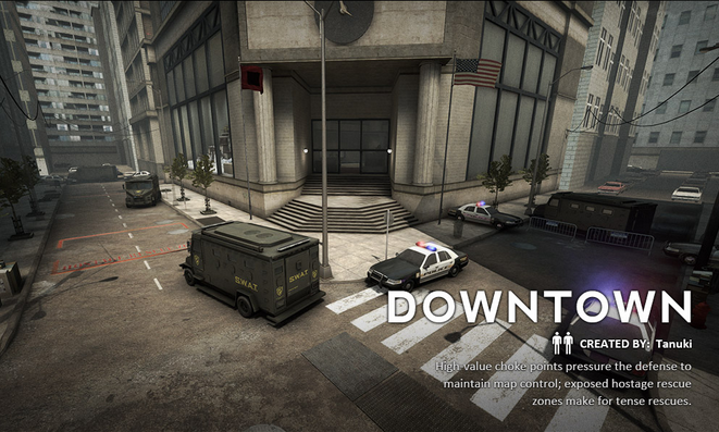 downtown cs go