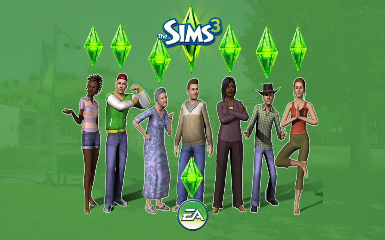 The sims 3 Snydekoder