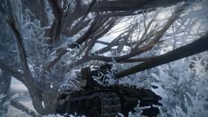 Smadret kampvogn