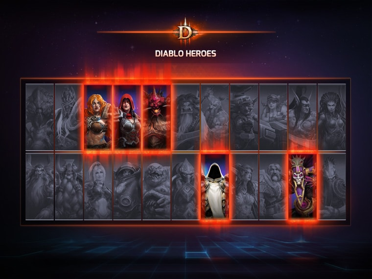 Diablo heroes