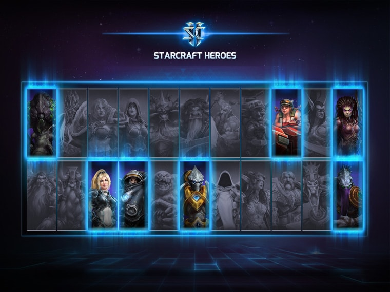 Starcraft Heroes