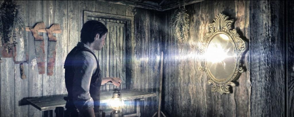 Spejlet fungere som port til den anden verden.