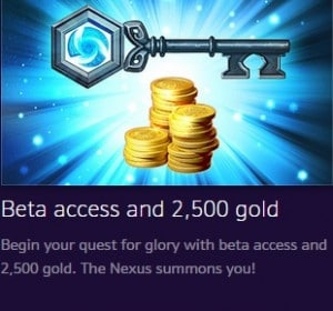 heroes of the storm founder's pack beta adgang