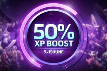Heroes of the Storm XP Boost fra 9. til 15. juni.