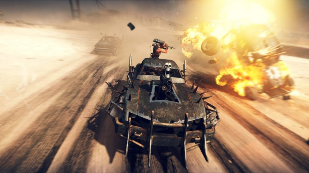 mad max car explosion