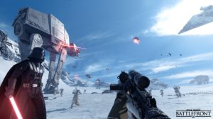 Star Wars Battlefront trailer billed