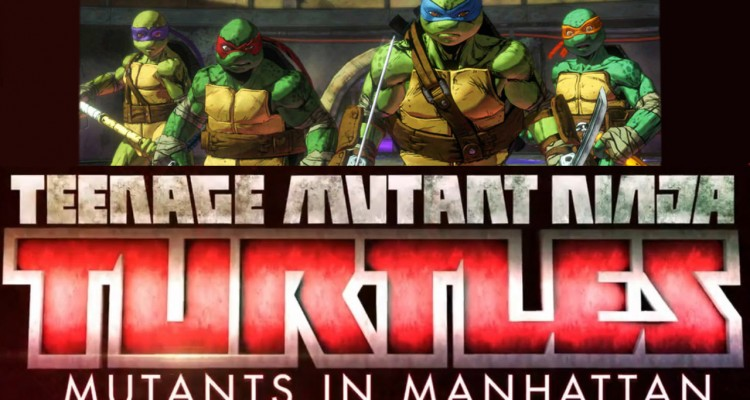 Teenage Mutant Ninja Turtles: Mutants in Manhatten
