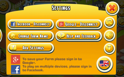 Hay day recovery code